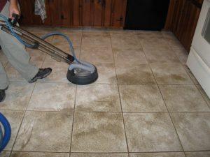 tile in kitchen