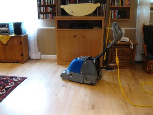 wood floor and refinisher